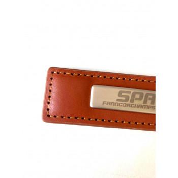 Porte-clés métal brun...