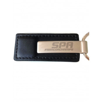 Porte-clés métal noir...