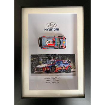 Cadre 3D automobile S.Loeb