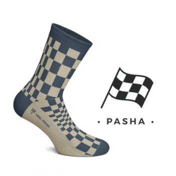 Chaussettes hautes Pasha navy