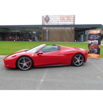 Location Ferrari 458 Spider