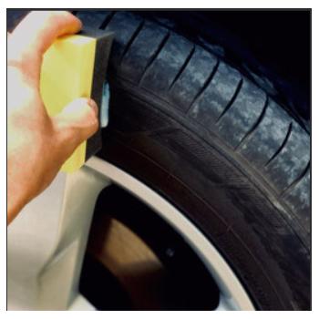 Applicateur pour pneus