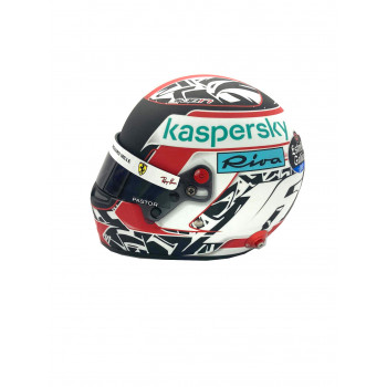 Mini casque Charles Leclerc...