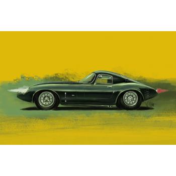 Peinture digitale Jaguar...