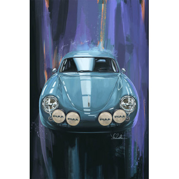Peinture digitale Porsche...
