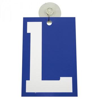 Car Point plaque signe L