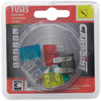 FUSIBLES PLUG-IN 7,5A-30A...