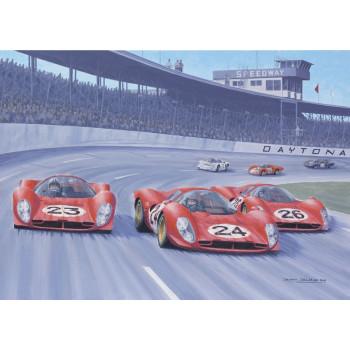 """""""Daytona 1967"""" 50 x 70 /..."""