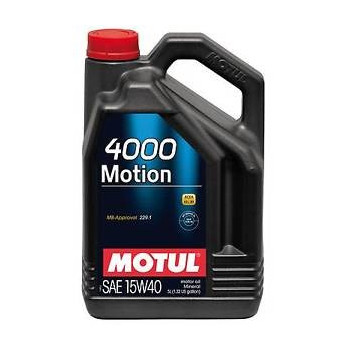 MOTUL 4000 MOTION SAE 15W40 1L