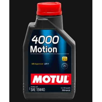 Motul 4000 Motion SAE 15W40 2l