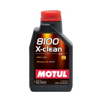 HUILE MOTUL 8100 X-CLEAN...