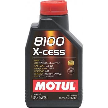 HUILE MOTUL 8100 X-CESS SAE...