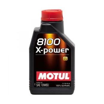 HUILE MOTUL 8100 X-POWER...