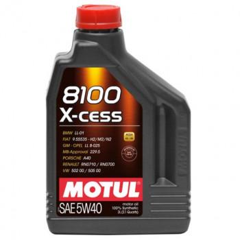 MOTUL 8100 X-CESS SAE 5W40 2L