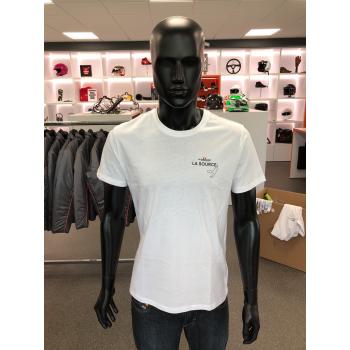 T-shirt adulte blanc...