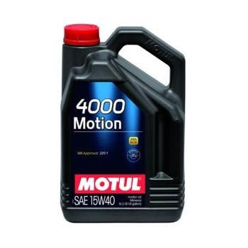 MOTUL 4000 MOTION SAE 15W40 4L