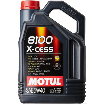 MOTUL 8100 X-CESS SAE 5W40...