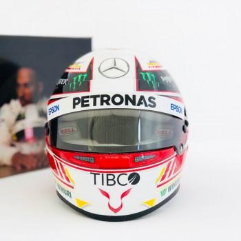 Mini casque Lewis Hamilton...