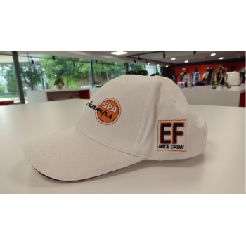 CASQUETTE SPA BLANC ORANGE
