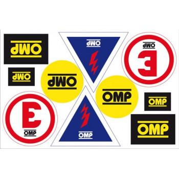Set autocollants OMP