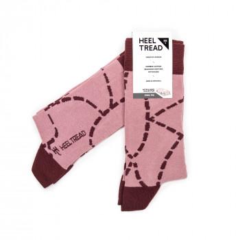 Chaussettes hautes Pink Pig