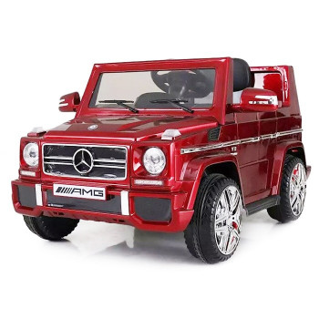E-CAR MERCEDES BENZ G55 ROUGE