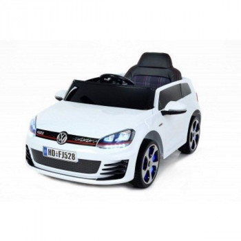 E-CAR VW GOLF GTI BLANC