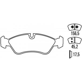 Plaquettes de frein - Opel...