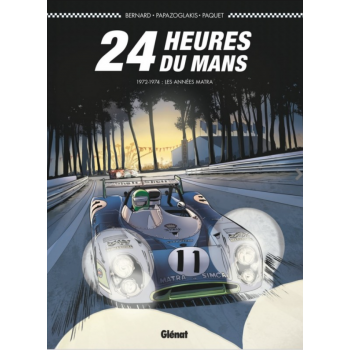 24 heures du Mans 1972-1974...