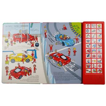 Le livre sonore de Ferrari...