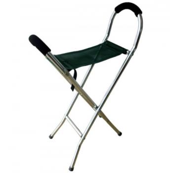 Chaise canne en aluminium