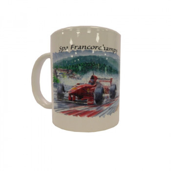 Mug F1 Ferrari Raidillon