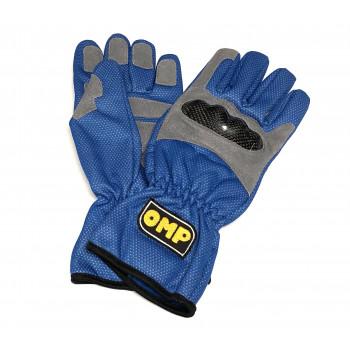 Gants OMP pluie bleu
