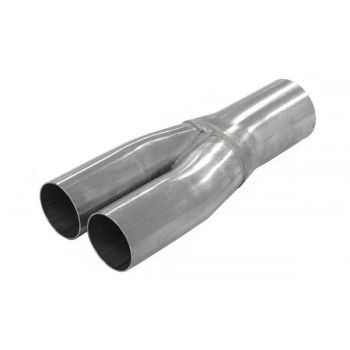 """TUBE EN Y 2,5"""" (63mm) ACIER"""