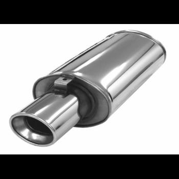 Silencieux Ellips inox - 63mm