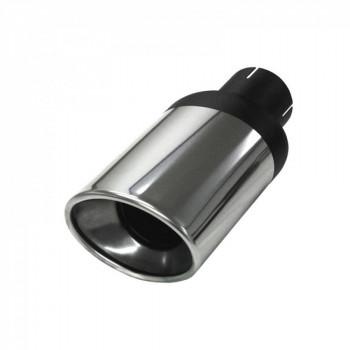 Sortie Ellips XL inox - 63mm