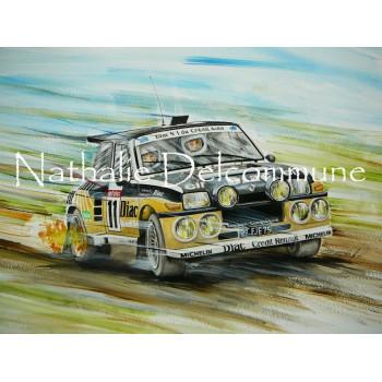 Peinture à l'huile n°9 -...
