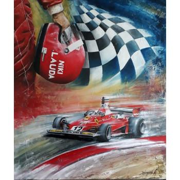 Peinture à l'huile n°3 -...