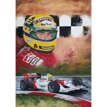 Peinture à l'huile n°4 -...