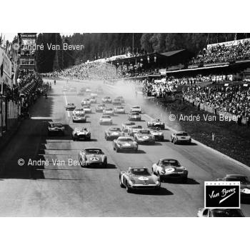 Départ des 500 km de Spa 1964