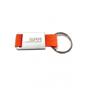 Porte-clés orange circuit...